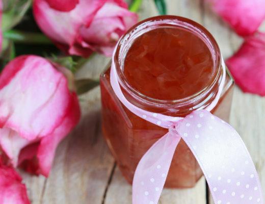 gelatina di rose