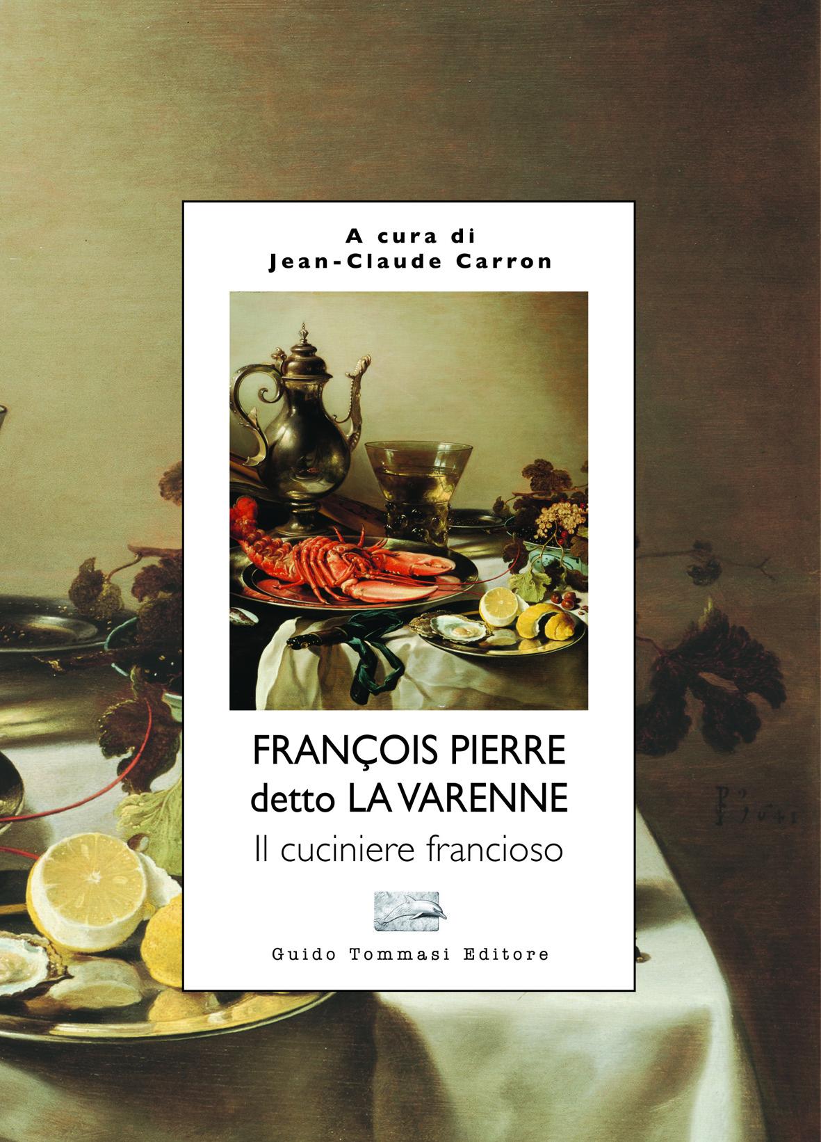 Il cuciniere francioso - copertina