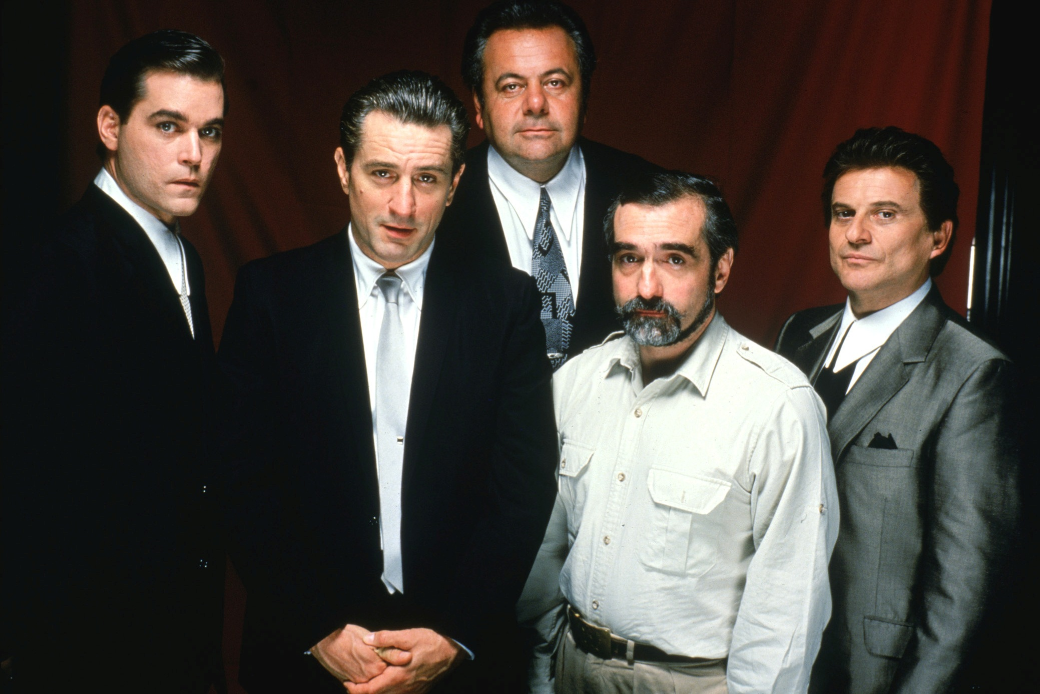 Liotta Robert De Niro Paul Sorvino Joe Pesci Martin Scorsese GOODFELLAS