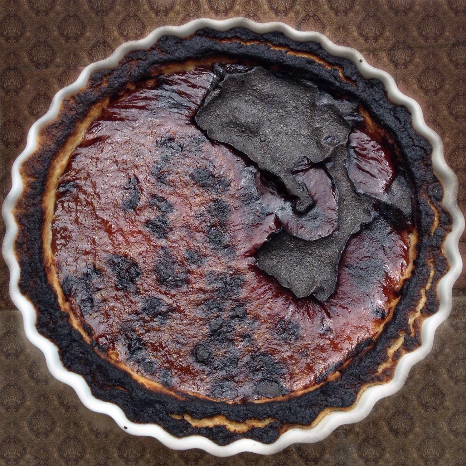 La crostata bruciata