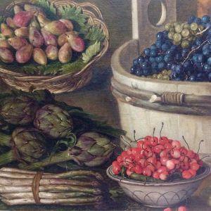 La fruttivendola 1578-81 dettaglio