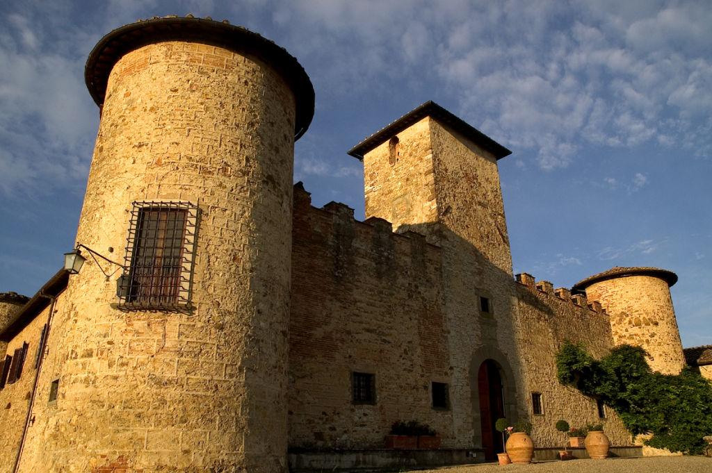 Castello di Gabbiano - particolare