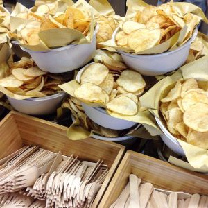 Mercato Metropolitano - chips - ph Olivia