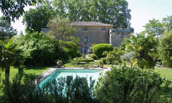 piscina Chateau La Canorgue