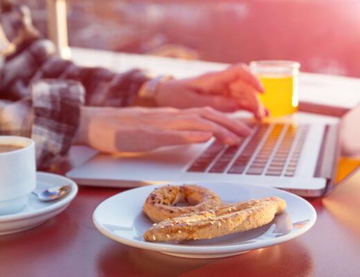 cucinare e scrivere