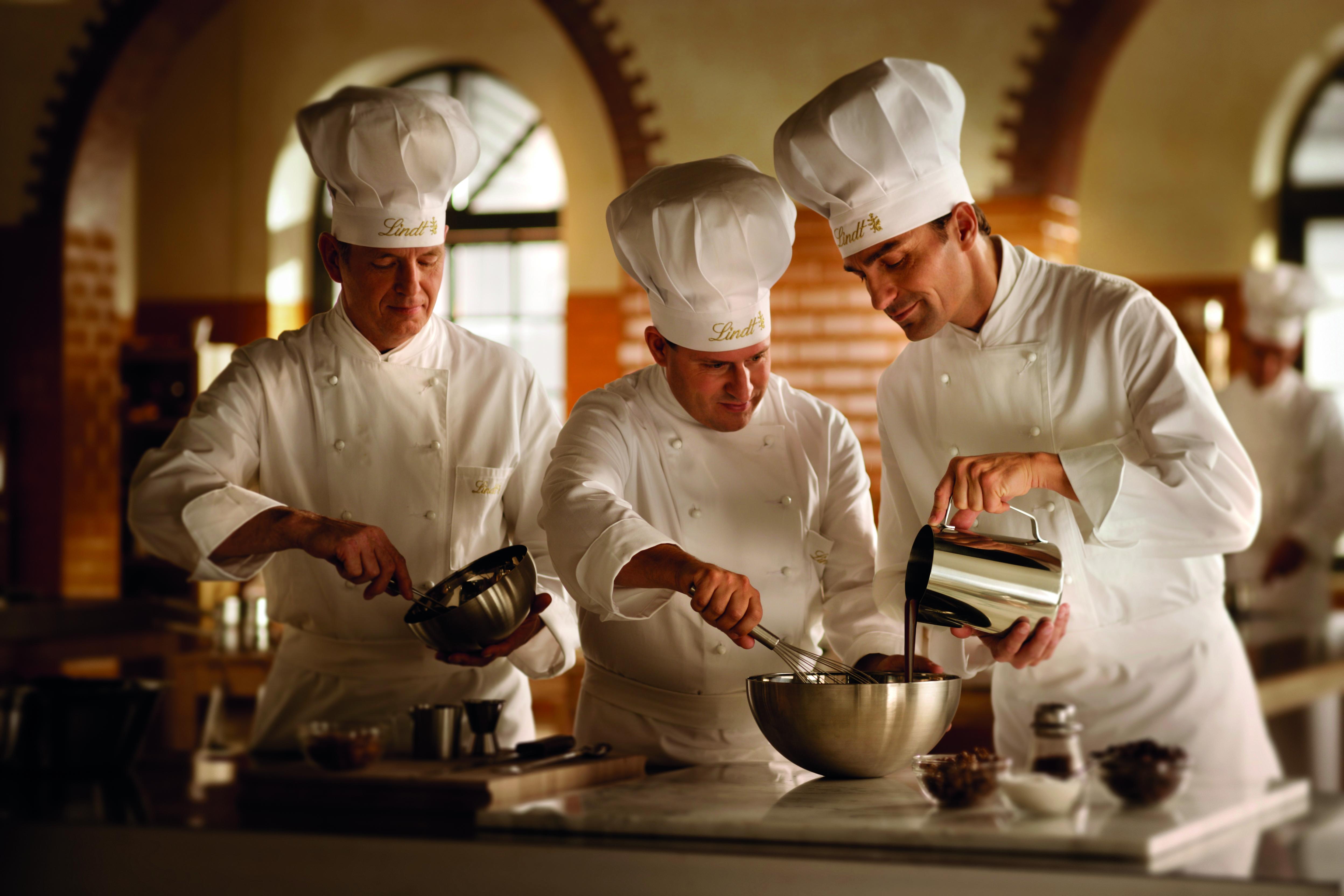 Salon du Chocolat - I maestri cioccolatieri Lindt