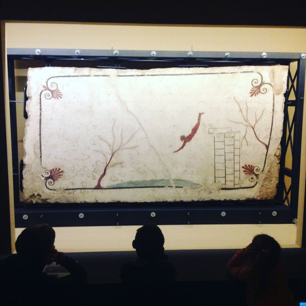 La tompa del tuffatore - Paestum 480 a.C.
