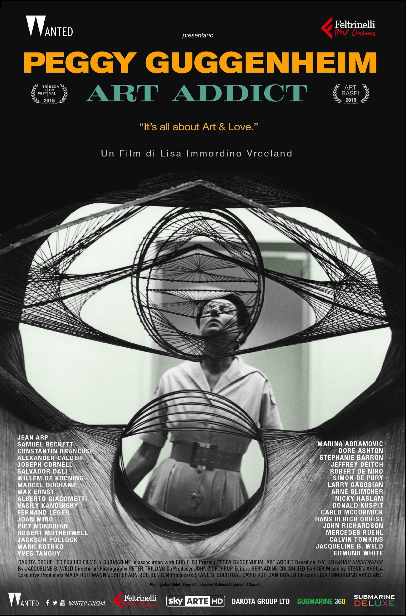 PEGGY GUGGENHEIM ART ADDICT - manifesto