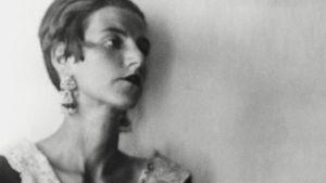 Una giovane Peggy Guggenheim