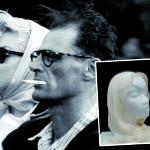 Marilyn Monroe's cream-white chiffon scarf