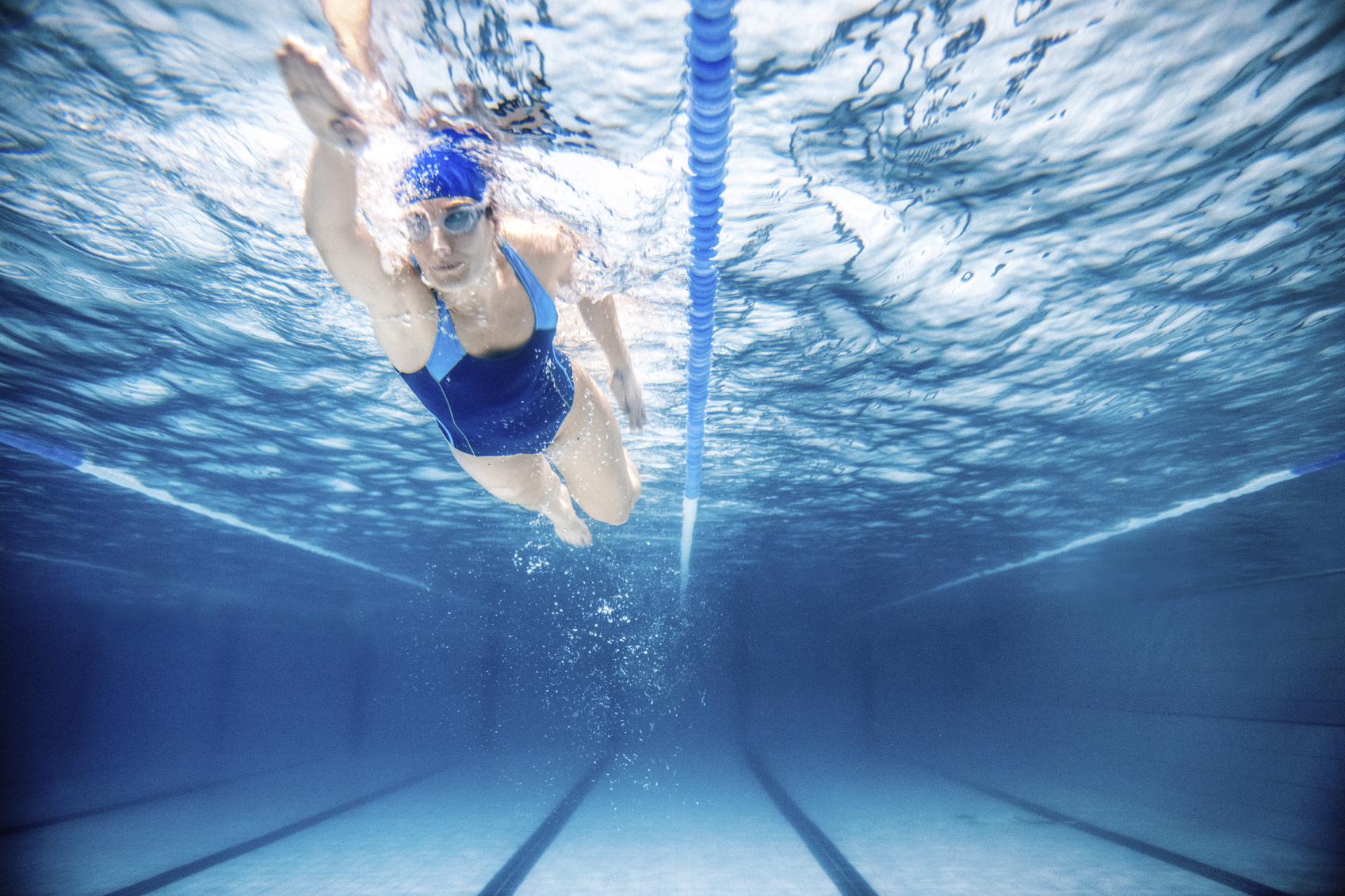 allenamento nuoto piscina