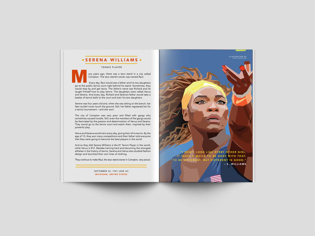 Serena Williams - Erin Marlow