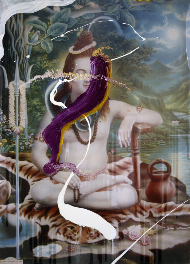 JULIAN SCHNABEL, Eddie Stern (Shiva), 2007, cm 271,8x195,6, credit photo Tom Powel, copy Julian Schnabel Studio, Gian Enzo Sperone