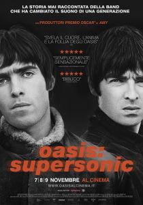 Oasis: supersonic - il manifesto. In uscita il 7 novembre 2016