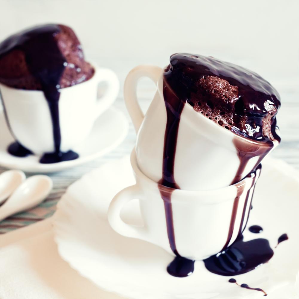 Mug cake: la mia torta in tazza al cioccolato fondente