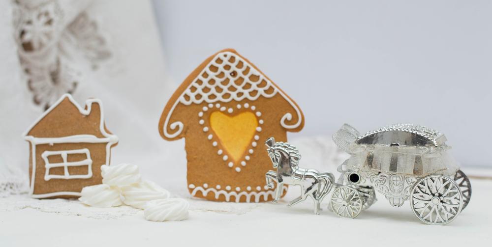 biscotti e casetta di pan di zenzero