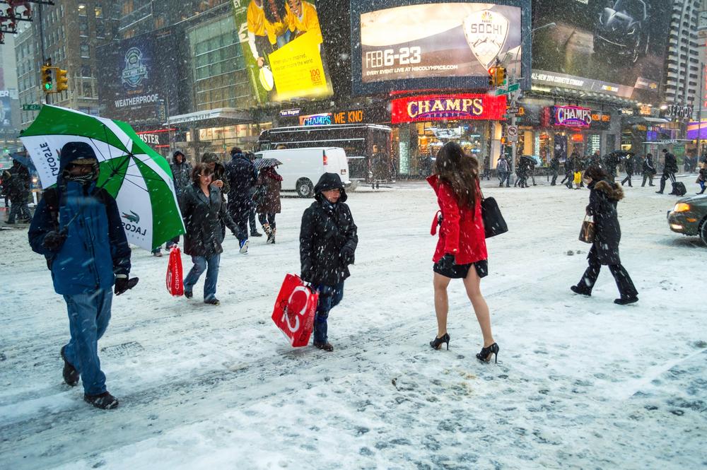 La grande nevicata di new York 2014 - photo credits Andrew F. Kazmierski
