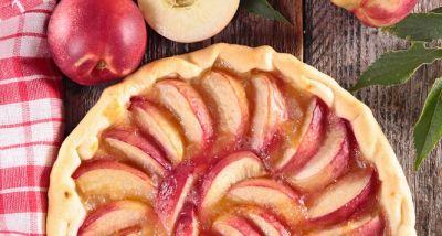 crostata pesche - peach pie