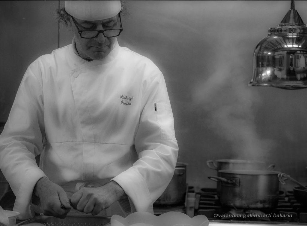 Pierluigi Lovisa chef del Vecio Fritolìn