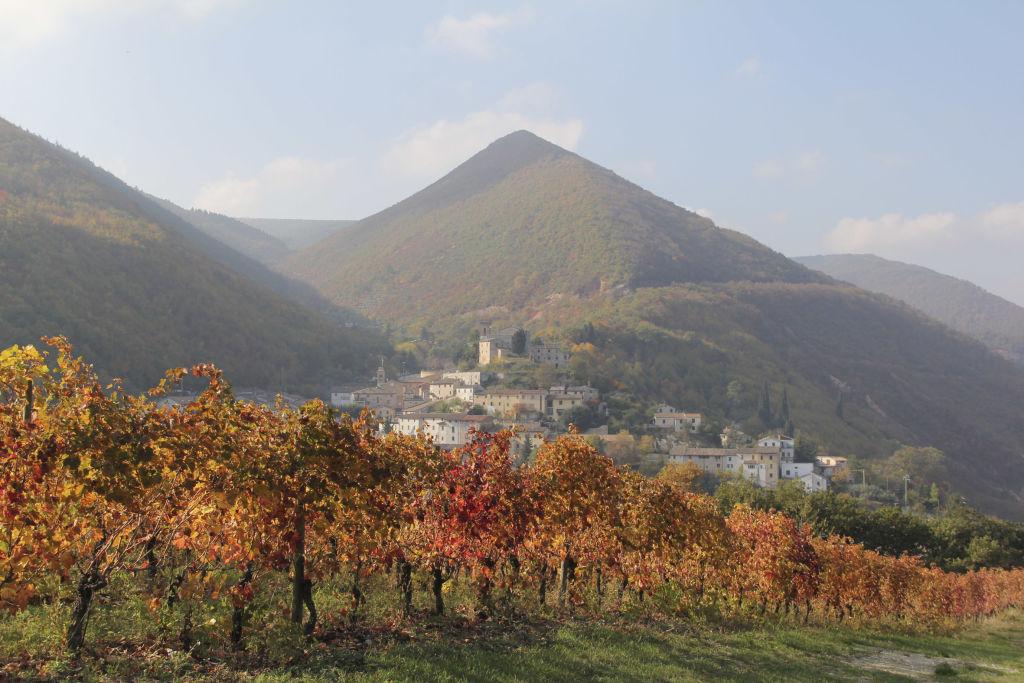 Serrapetrona, borgo da inserire nei percorsi dell'Alto Maceratese