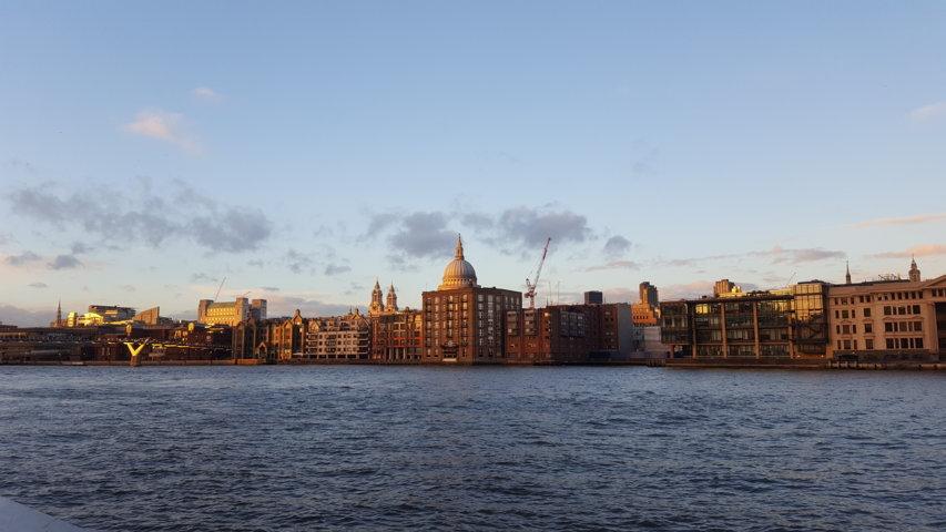 Londra al tramonto
