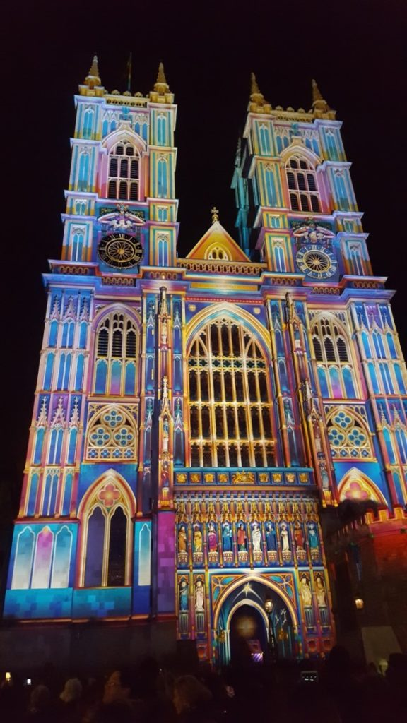 Westminster Lumiere London 2018