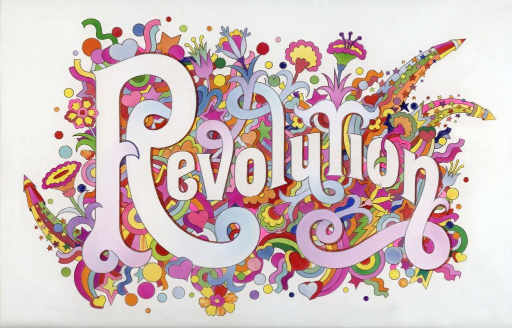 'Revolution', Alan Aldridge/Harry Willock/Iconic Images, 1968