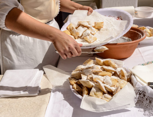 Rufioi: ravioli dolci fritti di Carnevale