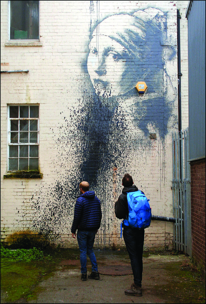 Banksy-Canis Major-Girl with a pierced eardrum_2014