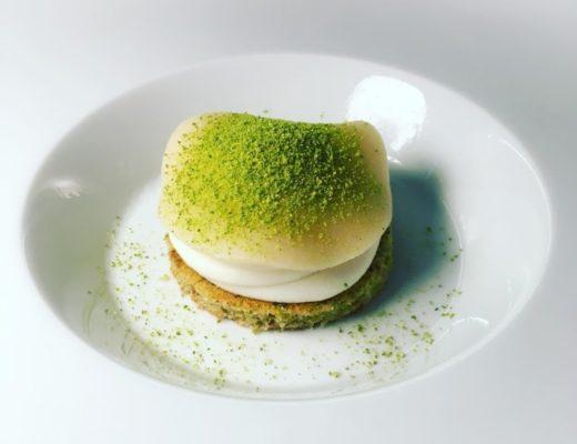 """Beppe Allegretta, pastry chef del ristorante Unico Milano - il dessert """"Pensando ad una cassata"""""""