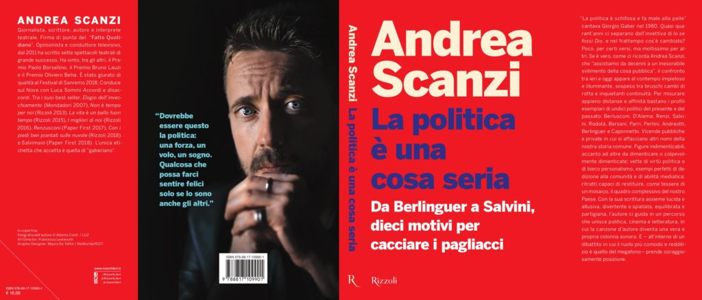 Andrea Scanzi - La politica è una cosa seria