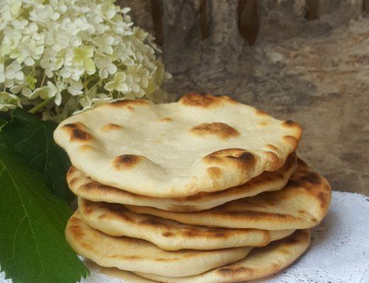 Pane in teglia con lievito naturale