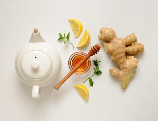 Infuso detox tè verde e zenzero