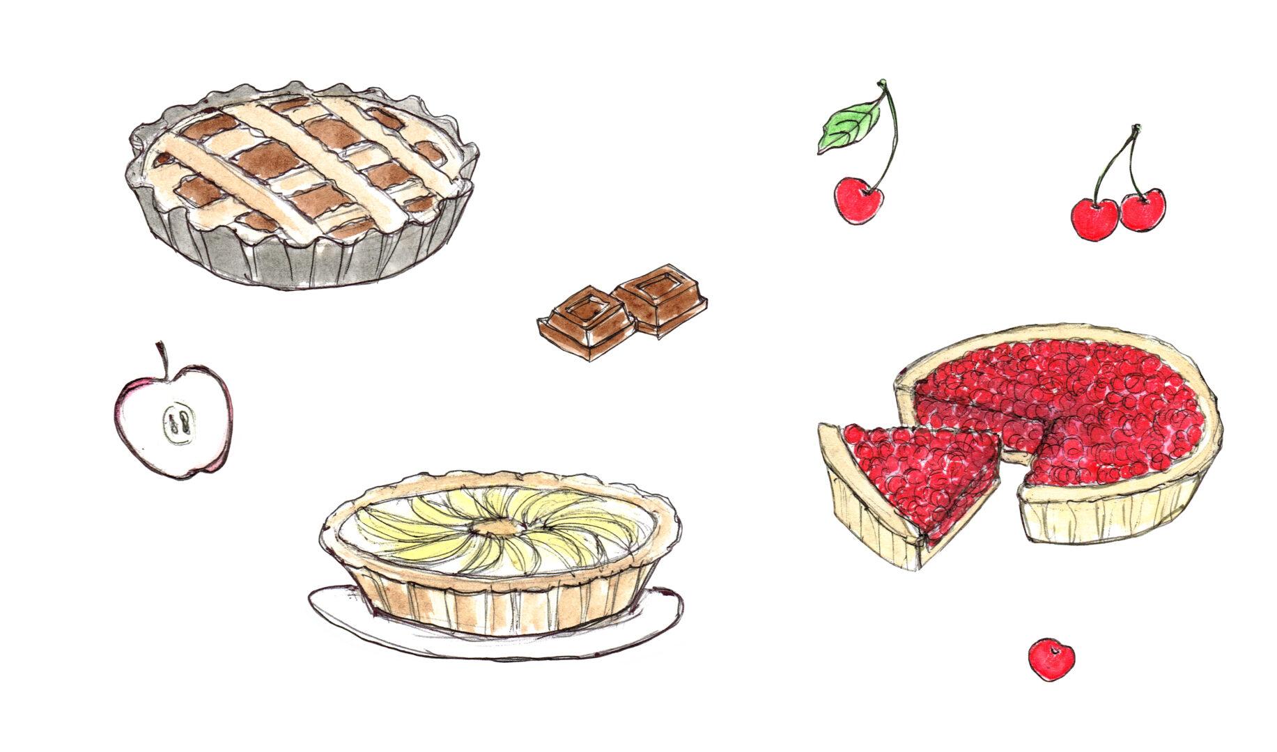 """©Silvia Trappa """"Torte"""" Incantesimi in cucina"""
